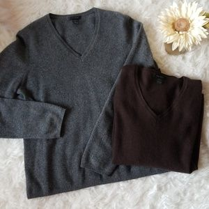Nordstrom Cashmere 2 Sweater Bundle